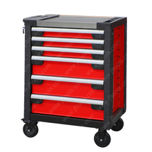 Deep Tall Cylinder Lockable Roller Tool Chest Cabinet
