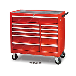 Large Stainless Steel Tool Drawer Cabinet