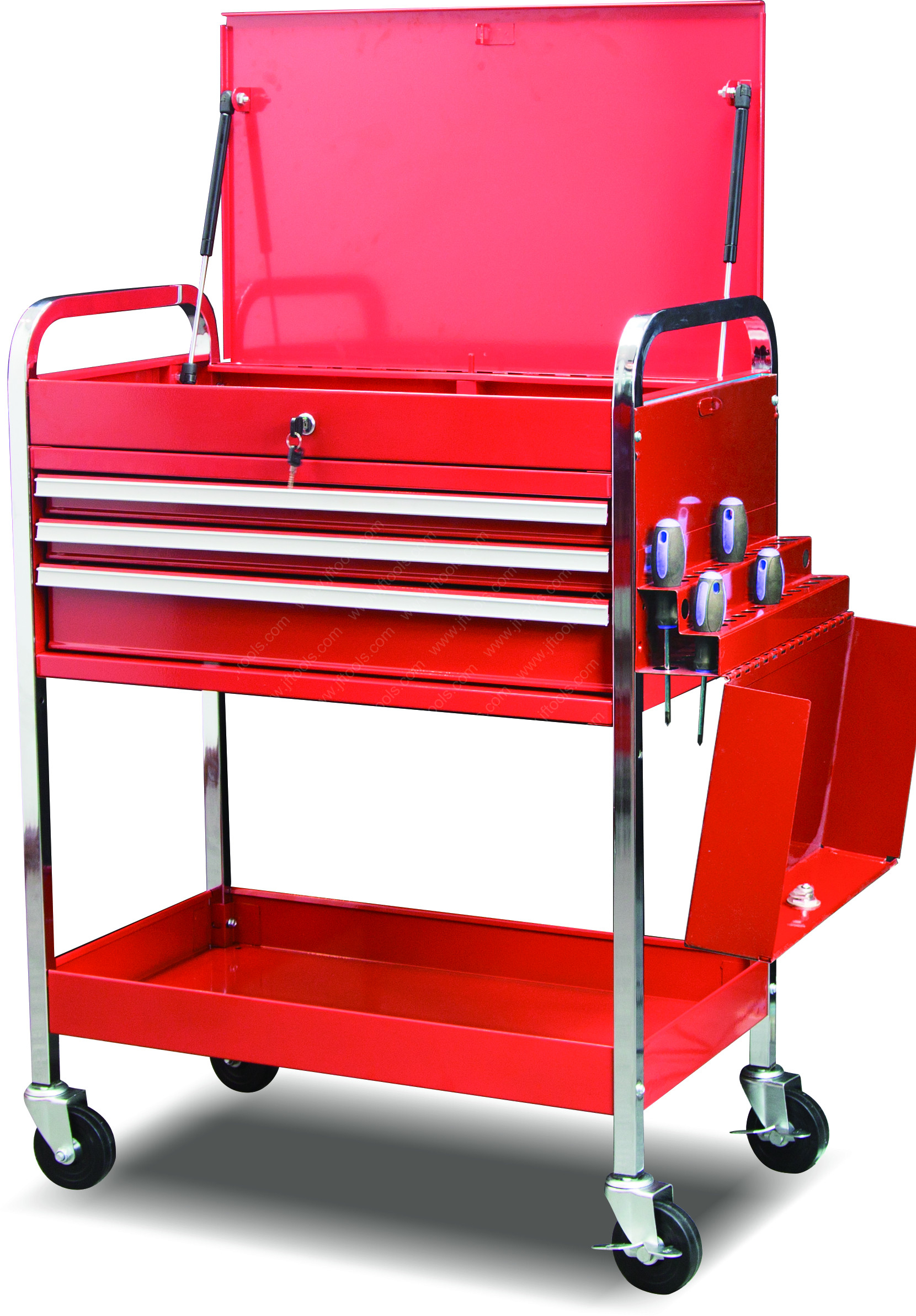 Mechanics Roll Tool Cart Box with Drawer