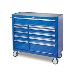 Mechanics Large Rolling Metal Tool Chest And Cabinet