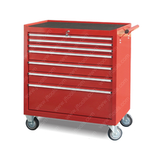Industrial Stainless Powder 7 Drawer Tool Cabinet