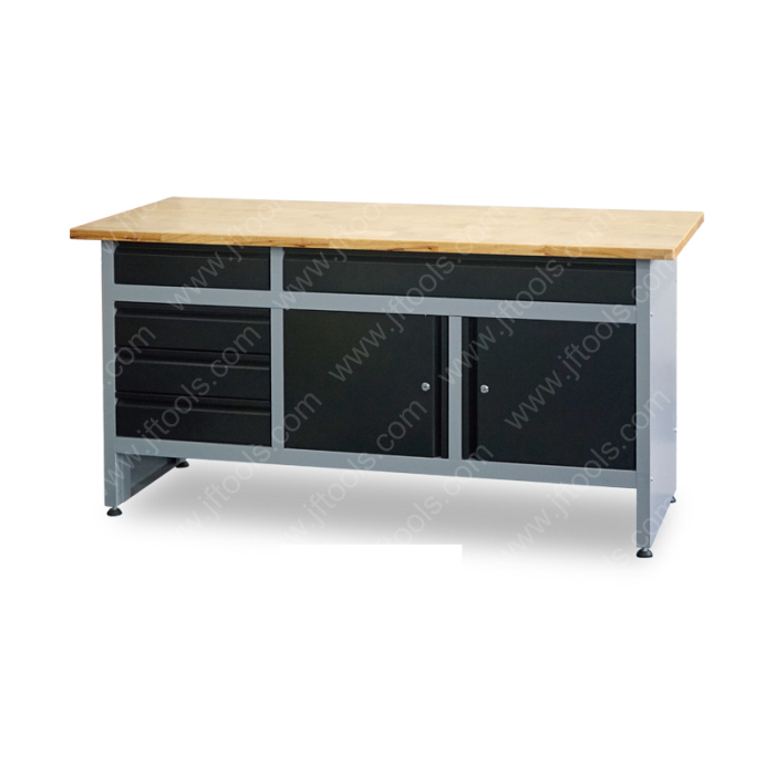 Under Storage Diy Garage Custom Workbench