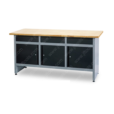 Metal buy garage hardwood top workbench